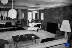 1950s living room downstairs